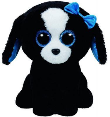 Мягкая игрушка щенок TY Щенок Tracey плюш черный 25 см 37076