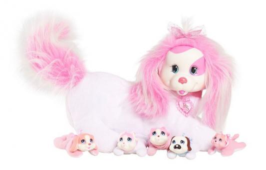 Мягкая игрушка собака TY Собачка Рокси и ее щенки полиэстер белый 42107