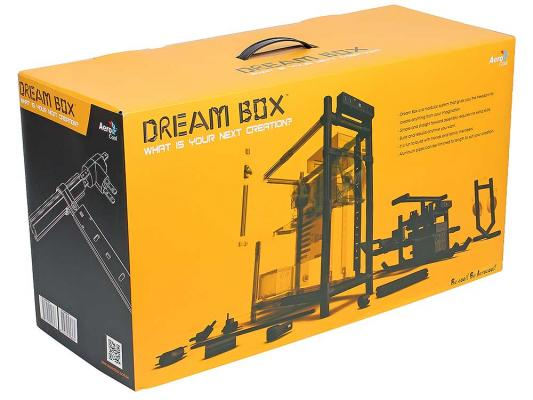 Корпус ATX Aerocool Dream Box Без БП чёрный 4713105958089