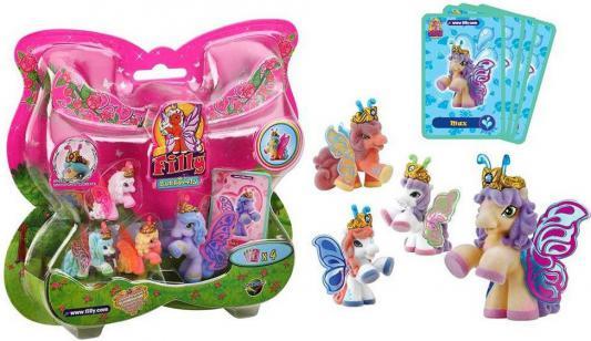 Игровой набор Filly Бабочки Волшебная семья 6 предметов 20580 в ассортименте steffi игровой набор семья