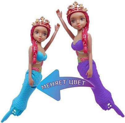 Кукла Море чудес Танцующая Русалочка Амелия 15 см плавающая меняет цвет 159295 море чудес игровой набор грот русалочки в ассортименте