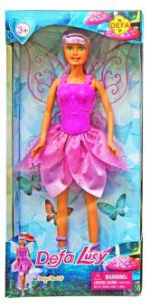 Кукла DEFA LUCY Фея 29 см в сиреневом платье 8324purple кукла defa lucy 61008a