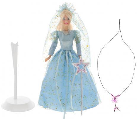 Кукла Defa Lucy Фея 29 см в голубом платье