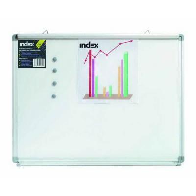Доска магнитно-маркерная, зажим EasyGrip, 90х120 см, металлическая рама IWB-214 tefal easygrip j1250164