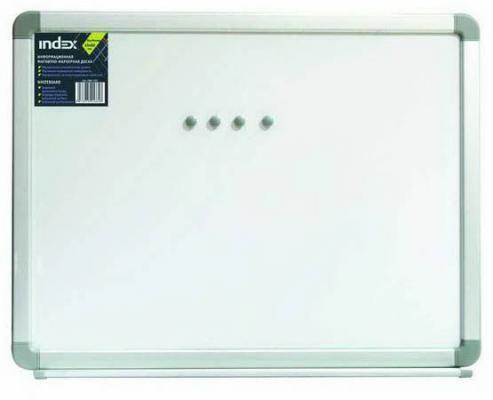 Доска магнитно-маркерная, 60х90 см, улучшенная металлическая рама IWB-303 цена и фото