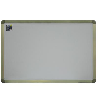 Доска текстильная 60х90 см, алюминиевая рамка, серая IWB-801/GY