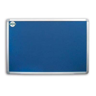 Доска текстильная 90х120 см, алюминиевая рамка, синяя IWB-802/BU цена и фото