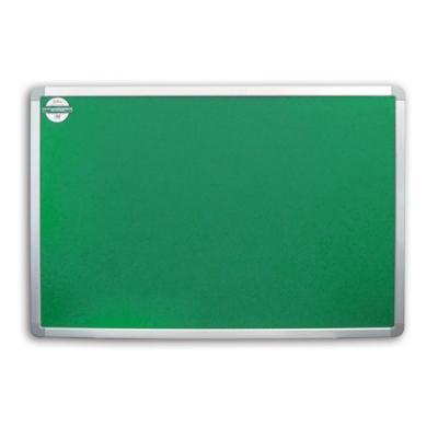 Доска текстильная 90х120 см, алюминиевая рамка, зеленая IWB-802/GN