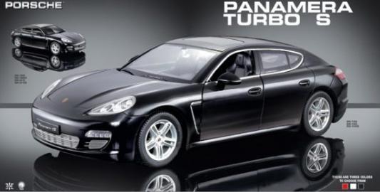 Машинка на радиоуправлении GK Racer Series 1 : 18 Porsche Panamera Turbo S пластик от 6 лет черный 6927079445249
