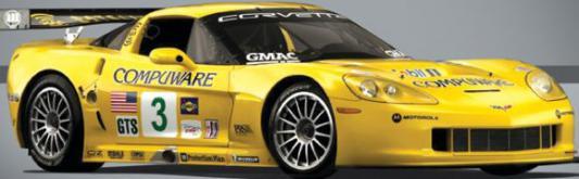 Машинка на радиоуправлении GK Racer Series 1 : 24 Chevrolet corvette пластик от 8 лет желтый 6927079445225