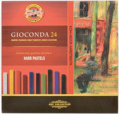 Набор художественной пастели Koh-i-Noor Gioconda 24 цвета 24 штуки от 3 лет 8114/24