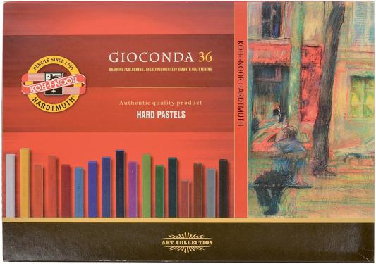 Набор художественной пастели Koh-i-Noor Gioconda 36 цветов 36 штук от 3 лет 8115/36