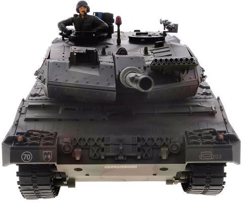 Танк на радиоуправлении VSP German Leopard2 A6 пластик от 14 лет камуфляж машинка vsp танк 628437