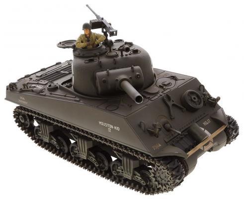 """Купить со скидкой Танк на радиоуправлении VSP """"M4A3 Шерман"""" пластик от 14 лет коричневый 628434"""