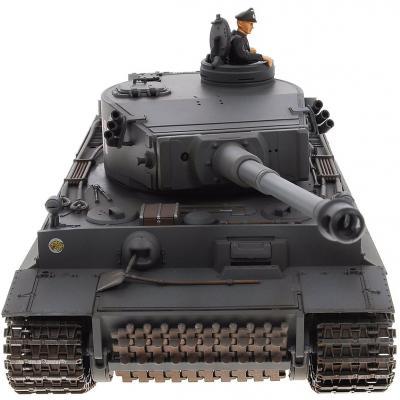 Танк на радиоуправлении VSP German King Tiger I пластик от 14 лет серый 628437 автомобиль на электро радиоуправлении hong kong vstank a33224453 vstank vsp 2 4g m1a2