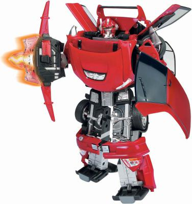 Машина-трансформер Happy Well MITSUBISHI LANCER EVOLUTION 50100