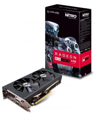 Видеокарта 8192Mb Sapphire RX 480 PCI-E HDMI DP 11260-01-20G Retail