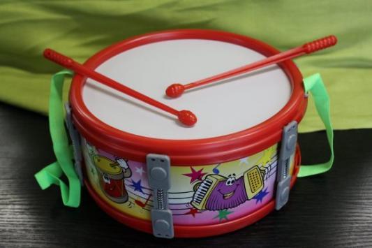 Купить Барабан MAREK 17 см малый в ассортименте, Детские музыкальные инструменты