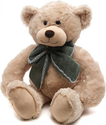 Мягкая игрушка медведь MAXITOYS МИШКА САНИ искусственный мех синтепон бежевый 50 см 4612735100038