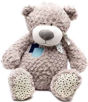 Мягкая игрушка медведь MAXITOYS МИШКА ЖОРИК текстиль серый 70 см 4612735100045