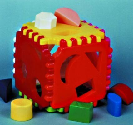 Купить Сортер Nina Логический куб N-00032, Сортеры и шнуровки