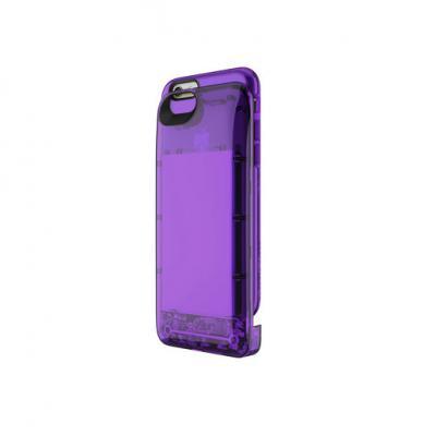 Чехол-аккумулятор Boostcase Hybrid Battery Case для iPhone 6 iPhone 6S фиолетовый прозрачный BCH2700IP6-AMT