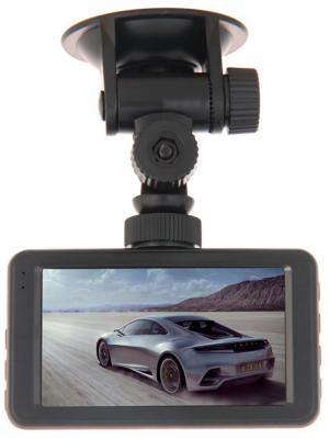 "Видеорегистратор Prestigio RoadRunner 525 3"" 960x240 120° Mini USB microSD microSDHC черный"