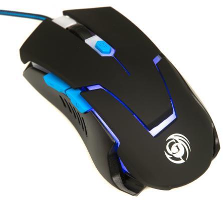 Мышь проводная Dialog MGK-12U чёрный USB