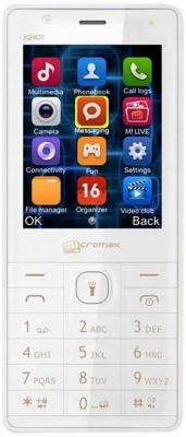 "Мобильный телефон Micromax X2401 белый шампань 2.4"" 200 Мб"