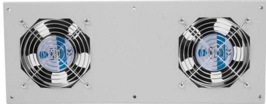 Модуль вентиляторный потолочный 170x425 2 вентилятора с терморегулятором МВ-400-2Т