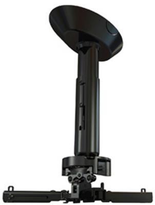 Крепеж Wize Pro PR24A потолочный универсальный крепление+штанга 46-61см +площадка к потолку наклон +/- 25° поворот +/- 6° вращение 360° до 23кг черный