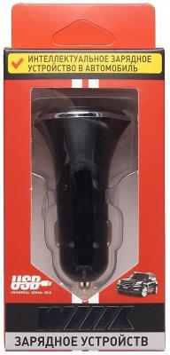 Автомобильное зарядное устройство Wiiix UCC-3-4 3 x USB 2.1/1А черный