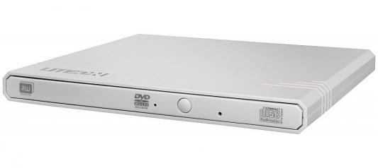 Внешний привод DVD±RW Lite-On eBAU108 USB 2.0 белый Retail внешний привод dvd±rw lg gp70ns50 usb 2 0 серебристый retail