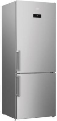 Холодильник Beko RCNK321E21S серебристый холодильник beko rcnk321e21s