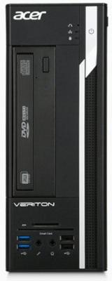 Системный блок Acer Veriton X2640G USFF i5-6400 2.7GHz 8Gb 500Gb Intel HD DVD-RW Win7Pro Win10Pro клавиатура мышь черный DT.VMXER.039