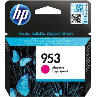 Картридж HP 953 F6U13AE для HP OJP 8710/8720/8730/8210 пурпурный 700стр картридж hp 953 f6u14ae для hp ojp 8710 8720 8730 8210 желтый 700стр