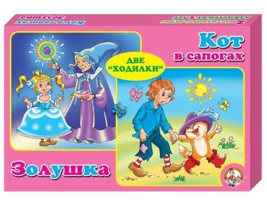 Настольная игра Десятое королевство ходилка Золушка и Кот в сапогах.2 в 1 5288 от 123.ru