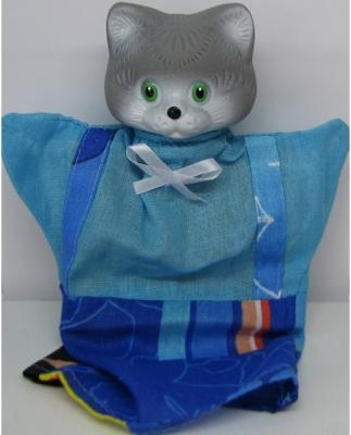 Кукла на руку Русский Стиль Кот 25 см в ассортименте 68354