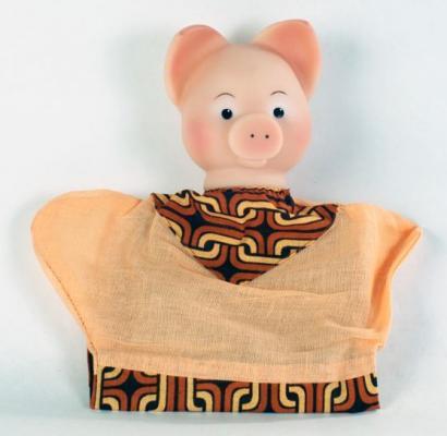 """Кукла на руку Русский Стиль """"Хрюша"""" 29 см 11046"""
