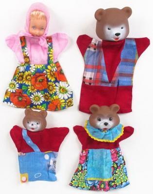 Игровой набор Русский Стиль Три медведя 4 предмета  11254