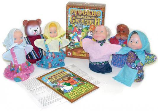 Игровой набор Русский Стиль Маша и медведь 6 предметов