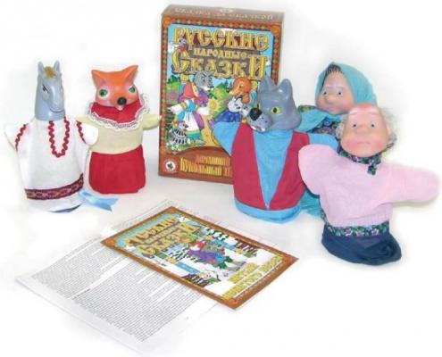 Кукольный театр Русский Стиль Битый небитого 6 предметов 11205 русский стиль набор кукольный театр три поросенка 4 персонажа в маленькой коробке 11255н