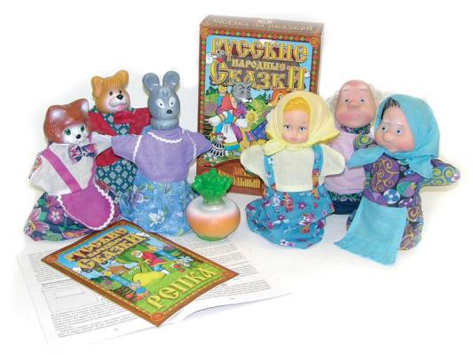 Купить Кукольный театр Русский Стиль Репка 6 предметов 11202