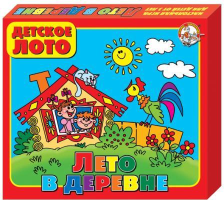 Фото - Настольная игра Десятое королевство лото Лето в деревне 00080 настольные игры десятое королевство лото детское мамины помощники