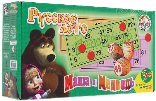 Настольная игра Десятое королевство лото Маша и Медведь 1421 00624