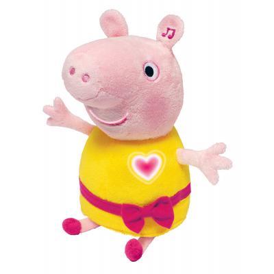Мягкая игрушка свинка РОСМЭН Пеппа плюш розовый 30 см 4680274022494