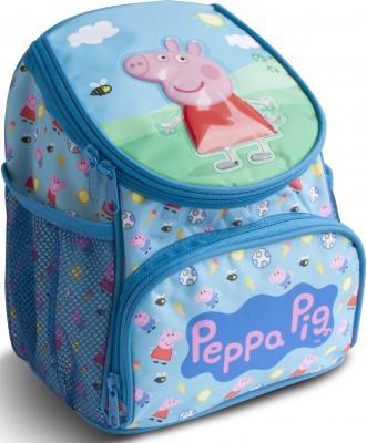 Дошкольный рюкзак водонепроницаемый РОСМЭН Свинка Пеппа голубой 24942
