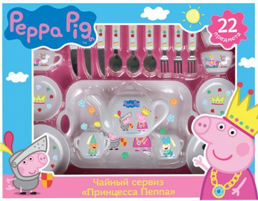 Чайный набор Росмэн Peppa Pig: Принцесса Пеппа peppa pig транспорт 01565