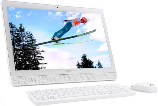 "Моноблок 19.5"" Acer Aspire Z1-612 1600 x 900 Intel Celeron-J3060 4Gb 500Gb Intel HD Graphics 400 64 Мб Windows 10 Home белый DQ.B4GER.003"
