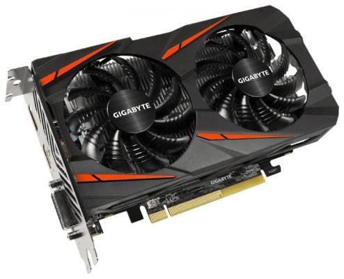 Видеокарта 4096Mb Gigabyte RX 460 PCI-E HDMI DP DVI GV-RX460WF2OC-4GD Retail